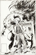 Original Comic Art:Covers, Alan Davis Doctor Who: Age of Chaos #1 Cover Original Art (Marvel UK, 1994)....