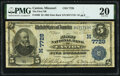National Bank Notes:Missouri, Canton, MO - $5 1902 Date Back Fr. 590 The First National Bank Ch. # (M)7729 PMG Very Fine 20.. ...