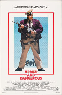 """Armed and Dangerous (Columbia, 1986). Folded, Very Fine. One Sheet (27"""" X 41""""). Comedy"""