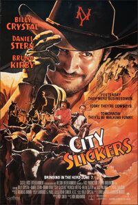 "City Slickers (Columbia, 1991). Rolled, Very Fine+. One Sheet (26.75"" X 39.75"") SS, John Alvin Artwork. Comedy..."
