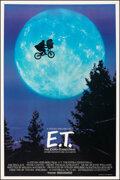 """Movie Posters:Science Fiction, E.T. The Extra-Terrestrial (Universal, 1982). Very Fine- on Linen. One Sheet (27"""" X 40.25"""") Bicycle Style, John Alvin Artwor..."""
