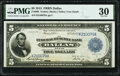 Large Size:Federal Reserve Bank Notes, Fr. 806 $5 1915 Federal Reserve Bank Note PMG Very Fine 30.. ...