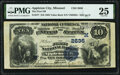 National Bank Notes:Missouri, Appleton City, MO - $10 1882 Value Back Fr. 577 The First National Bank Ch. # (M)2636 PMG Very Fine 25.. ...