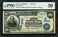Liberty, MO - $10 1902 Date Back Fr. 618 The First National Bank Ch. # (M)3712 PMG Very Fine 30