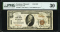Seymour, MO - $10 1929 Ty. 1 The Peoples National Bank Ch. # 9932 PMG Very Fine 30