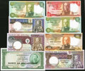 Angola and Africa Group Lot of 14 Examples About Uncirculated. ... (Total: 14 notes)