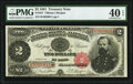 Large Size:Treasury Notes, Fr. 357 $2 1891 Treasury Note PMG Extremely Fine 40 EPQ.. ...