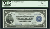 Fr. 785 $5 1918 Federal Reserve Bank Note PCGS Very Choice New 64