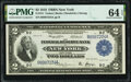 Fr. 751 $2 1918 Federal Reserve Bank Note PMG Choice Uncirculated 64 EPQ