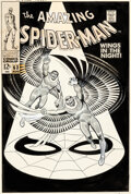 Original Comic Art:Covers, John Romita Sr. Amazing Spider-Man #63 Cover Original Art (Marvel, 1968)....