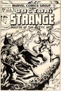 Original Comic Art:Covers, Frank Brunner Doctor Strange #3 Cover Original Art (Marvel, 1974)....
