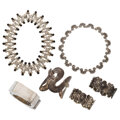 Estate Jewelry:Lots, Mexican Silver Jewelry. ... (Total: 6 Items)