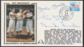 Autographs:Others, 1989 Mickey Mantle, Willie Mays, Duke Snider Signed First Day Cover....