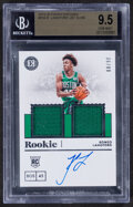 Basketball Cards:Singles (1980-Now), 2019-20 Panini Encased Romeo Langford Autograph Jersey Card #254 BGS Gem Mint 9.5 - Serial Numbered 36/99....