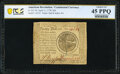 Colonial Notes:Continental Congress Issues, Continental Currency April 11, 1778 $20 PCGS Banknote Choice Extremely Fine 45 PPQ.. ...