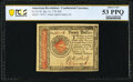 Colonial Notes:Continental Congress Issues, Continental Currency January 14, 1779 $20 PCGS Banknote About Unc 53 PPQ.. ...