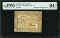 Colonial Notes:Continental Congress Issues, Continental Currency November 2, 1776 $8 PMG Choice Uncirculated 64 EPQ.. ...