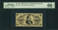 Fractional Currency:Third Issue, Fr. 1291 25¢ Third Issue PMG Gem Uncirculated 66 EPQ.. ...
