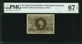 Fractional Currency:Second Issue, Fr. 1283 25¢ Second Issue PMG Superb Gem Unc 67 EPQ.. ...