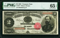 Large Size:Treasury Notes, Fr. 357 $2 1891 Treasury Note PMG Gem Uncirculated 65 EPQ.. ...