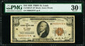 Small Size:Federal Reserve Bank Notes, Fr. 1860-H* $10 1929 Federal Reserve Bank Note. PMG Very Fine 30 EPQ.. ...
