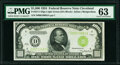 Fr. 2211-D $1,000 1934 Light Green Seal Federal Reserve Note. PMG Choice Uncirculated 63