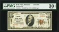 National Bank Notes:Montana, Wolf Point, MT - $10 1929 Ty. 2 The First National Bank Ch. # 11036 PMG Very Fine 30 EPQ.. ...