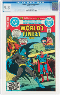 World's Finest Comics #273 (DC, 1981) CGC NM/MT 9.8 White pages