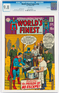 World's Finest Comics #192 Twin Cities Pedigree (DC, 1970) CGC NM/MT 9.8 White pages
