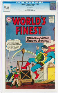 World's Finest Comics #132 (DC, 1963) CGC NM+ 9.6 Off-white pages