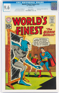 World's Finest Comics #121 (DC, 1961) CGC NM+ 9.6 White pages