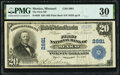 National Bank Notes:Missouri, Mexico, MO - $20 1902 Plain Back Fr. 650 The First National Bank Ch. # 2881 PMG Very Fine 30.. ...
