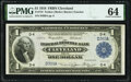 Large Size:Federal Reserve Bank Notes, Fr. 718 $1 1918 Federal Reserve Bank Note PMG Choice Uncirculated 64.. ...