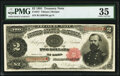 Large Size:Treasury Notes, Fr. 357 $2 1891 Treasury Note PMG Choice Very Fine 35.. ...