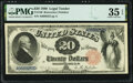 Large Size:Legal Tender Notes, Fr. 140 $20 1880 Legal Tender PMG Choice Very Fine 35 EPQ.. ...