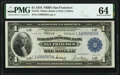 Large Size:Federal Reserve Bank Notes, Fr. 745 $1 1918 Federal Reserve Bank Note PMG Choice Uncirculated 64.. ...