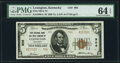 Lexington, KY - $5 1929 Ty. 2 First National Bank & Trust Company Ch. # 906 PMG Choice Uncirculated 64