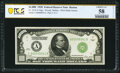 Small Size:Federal Reserve Notes, Fr. 2210-A $1,000 1928 Federal Reserve Note. PCGS Banknote Choice AU 58 Details.. ...