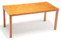 Furniture, Fernando Campana (Brazilian, b. 1961) and Humberto Campana (Brazilian, b. 1953). Lascas Table, 2011. Wood. 29 x 62-3/4 x...