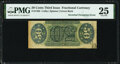 Fr. 1362 50¢ Third Issue Justice Inverted Surcharge PMG Very Fine 25