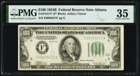 Fr. 2154-F* $100 1934B Federal Reserve Note. PMG Choice Very Fine 35