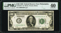 Fr. 2150-C* $100 1928 Federal Reserve Note. PMG Extremely Fine 40