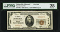 National Bank Notes:Missouri, Unionville, MO - $20 1929 Ty. 1 The Marshall National Bank Ch. # 3068 PMG Very Fine 25.. ...