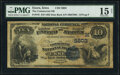 National Bank Notes:Iowa, Essex, IA - $10 1882 Date Back Fr. 545 The Commercial National Bank Ch. # (M)5803 PMG Choice Fine 15 Net.. ...