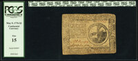 Continental Currency May 9, 1776 $2 PCGS Fine 15
