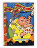 Golden Age (1938-1955):Funny Animal, Looney Tunes and Merrie Melodies Comics #27 (Dell, 1944) Condition:VG. Overstreet 2004 VG 4.0 value = $52....
