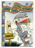 Golden Age (1938-1955):Cartoon Character, Looney Tunes and Merrie Melodies Comics #28 (Dell, 1944) Condition: FN. Overstreet 2004 FN 6.0 value = $78....