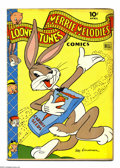 Golden Age (1938-1955):Cartoon Character, Looney Tunes and Merrie Melodies Comics #30 (Dell, 1944) Condition: VG-. Overstreet 2004 VG 4.0 value = $52....