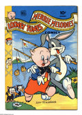 Golden Age (1938-1955):Funny Animal, Looney Tunes and Merrie Melodies Comics #34 (Dell, 1944) Condition:VG+. Overstreet 2004 VG 4.0 value = $44....