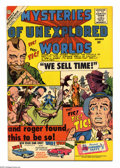 Silver Age (1956-1969):Mystery, Mysteries of Unexplored Worlds #21 (Charlton, 1960) Condition: FN.Steve Ditko cover and art. Overstreet 2004 FN 6.0 value =...